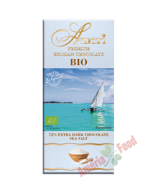 Ameri Extra dark chocolate BIO sea salt