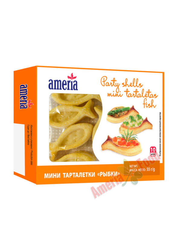 Ameria party shells mini tartlets Fish 12x10x50g