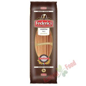 Federici-N3-Spaghetti-Whole-Wheat-30x400gr