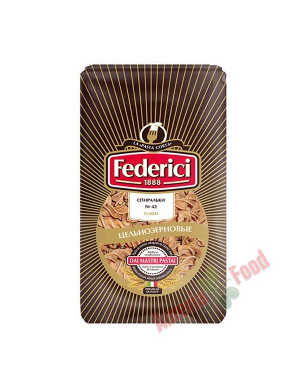 Federici-N42-Fusilli-Whole-Wheat-30x400gr