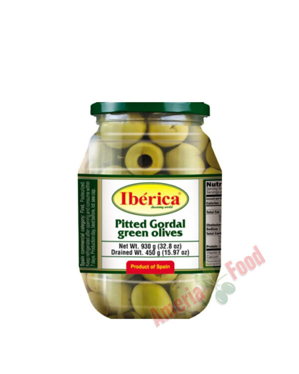 Iberica-Pitted-Green-Giant-Olives,-6x997ml