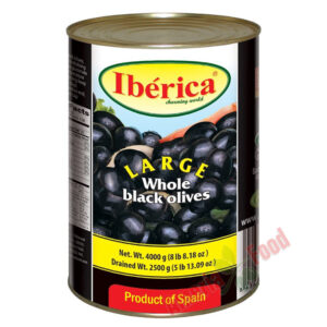 Iberica-Whole-Black-Olives,-3x4000ml