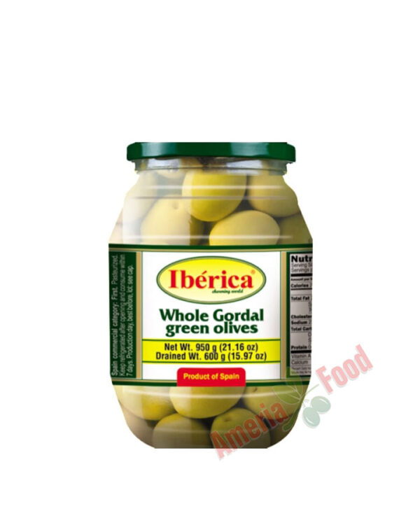 Iberica-Whole-Green-Giant-Olives,-6x997ml