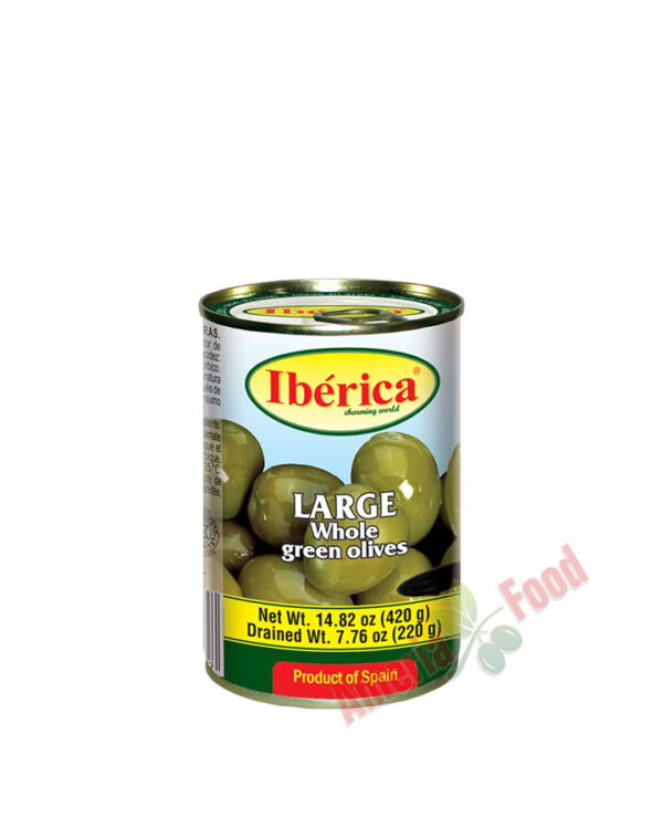 Iberica-Whole-Green-Olives,-24x432ml