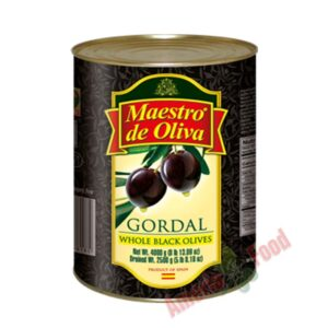 Maestro-de-Oliva-Black-Whole-Olives-3x4000gr