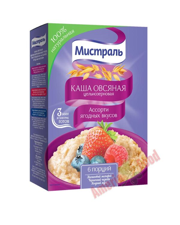 Mistral-Porridge-Assorted-Berry-Flavors-6x240gr