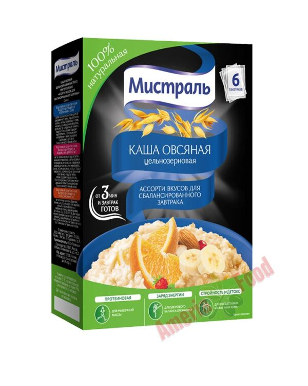 Mistral Porridge Assorted Flavors for a Balanced Breakfast