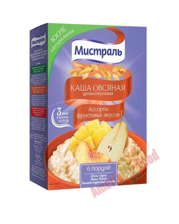 Mistral Porridge Assorted Fruit Flavors 6x240gr
