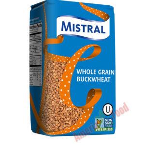 Mistral Unground Buckwheat 12x900g