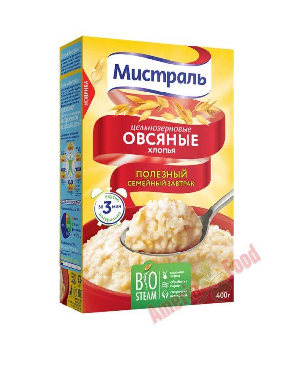 Mistral whole-grain oat Flakes 12x400gr
