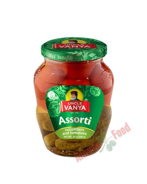 Uncle-Vanya-Cucumbers-and-Tomatoes-Assorti-680ml