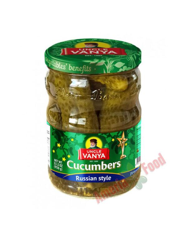 Uncle Vanya Cucumbers Marinated Russian Style