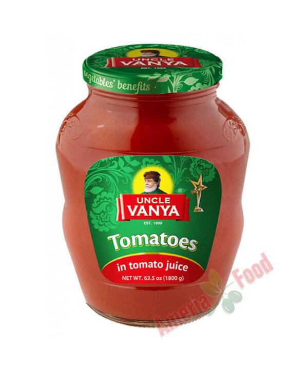 Uncle Vanya Tomatoes in Tomato juice 1800ml